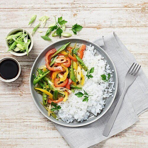 nu3 Low Carb Rice aus der Konjak-Glucommanan (kalorienarm), 2x 200g - Reis ohne Kohlenhydrate, nur 14 Kalorien je Packung