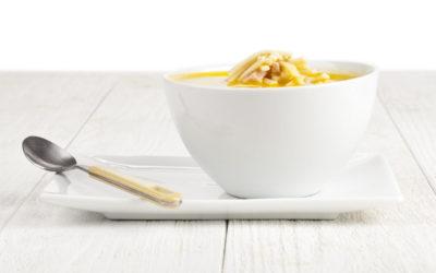 Kokosmilch-Shirataki mit Garnelen